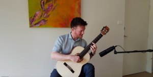 Matt Withers plays Toscano classical guitar