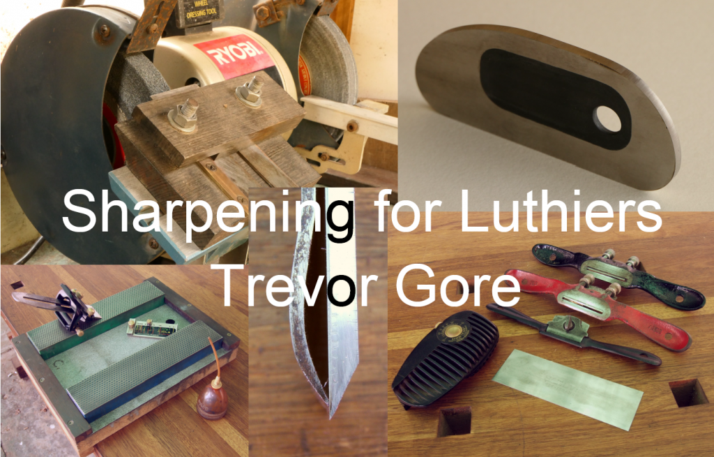 Luthier's Sessions - Sharpening with Trevor Gor