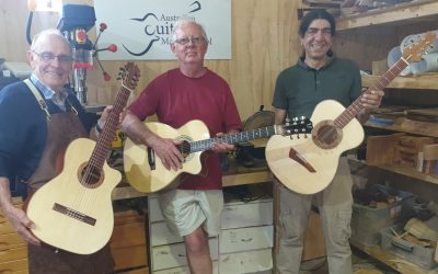 Weekly Guitar Making Course – the most popular option