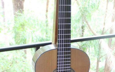 SOLD – Cedar top Classical Guitar for sale – Nov 2020 #160